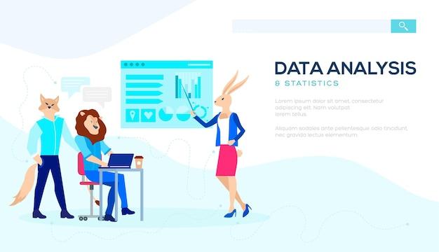 소셜 미디어 마케팅, 데이터 분석, 관리 앱, 컨설팅, 비즈니스 프로젝트 세트.