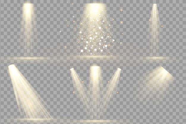 Набор spotlight изолированный