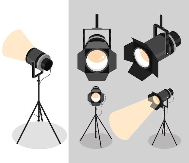 Набор точечных светильников профессиональный