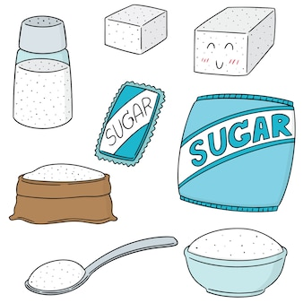Set of sugar