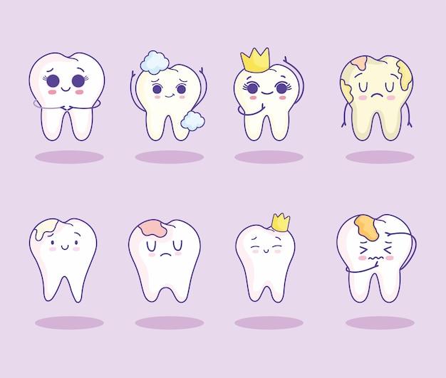 Набор зубов