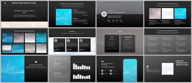 Набор шаблонов для сайтов и презентаций