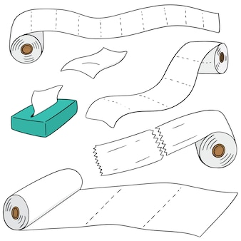 Set of tissue paper