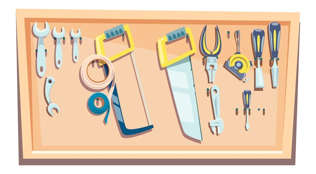 大工のためのツールのセット