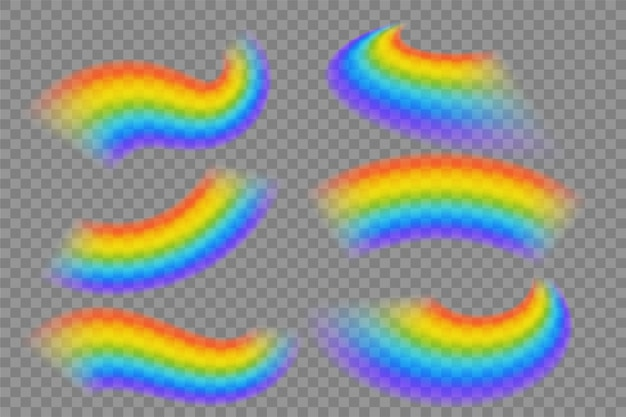 透明な虹のセット