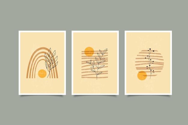 Набор дерева бохо современного искусства стен