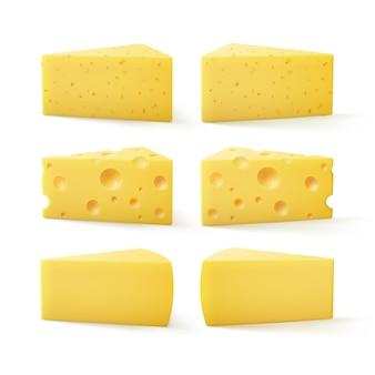 三角ピースの種類スイスチーズ