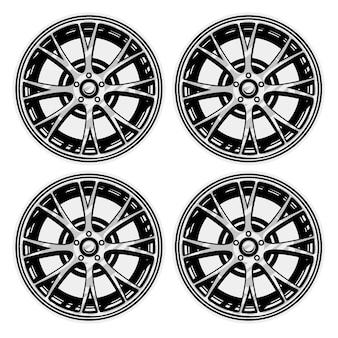 Комплект шин колес