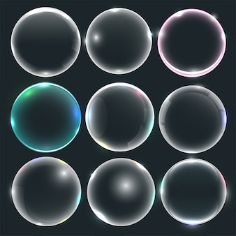 Набор воды или мыльных пузырей