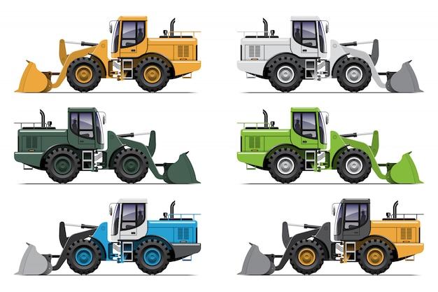 Комплект колесного погрузчика трактора