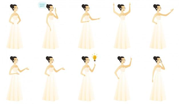 Набор с невестой персонажа.