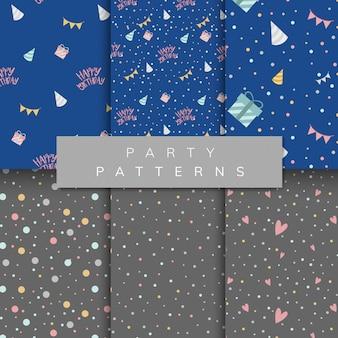 Set of party pattern vectors