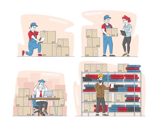 Set physical inventory count management