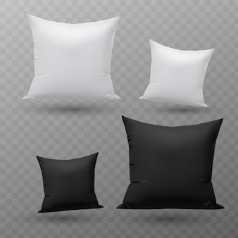 Set of pillows.