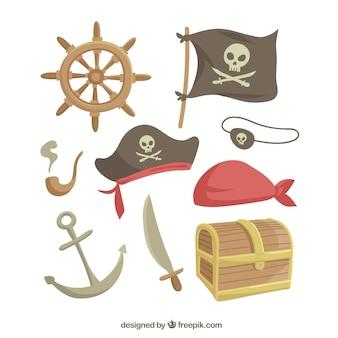 Set di elementi pirata