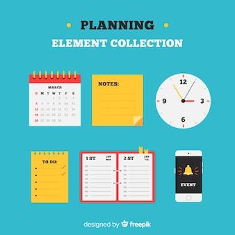 Insieme di elementi di pianificazione