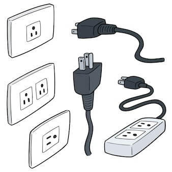 Set of plugs