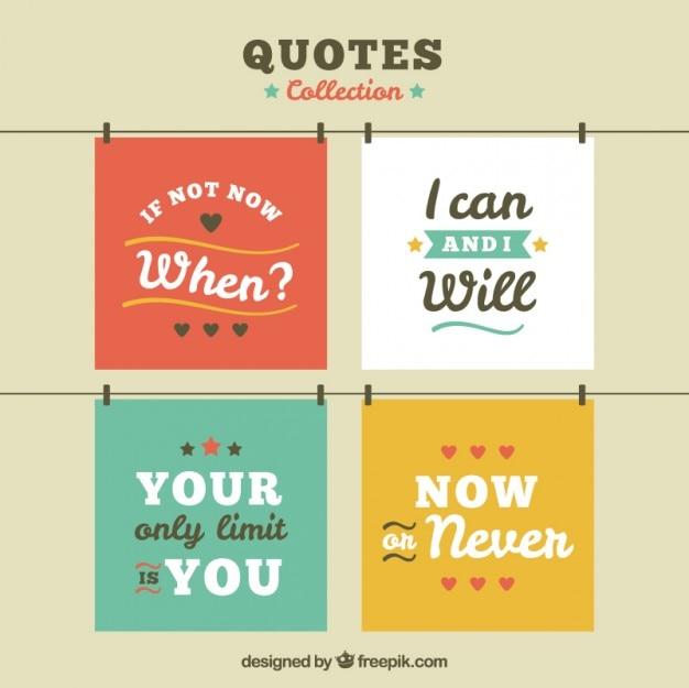 Set di citazioni positive