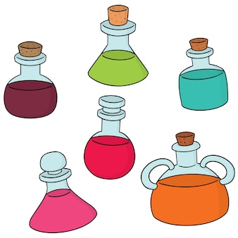 Set of potion
