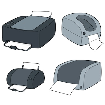 Set of printers