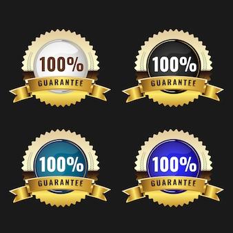Set of quality labels