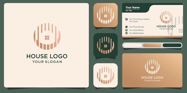 Set of real estate business logo template building,house, residential, property development and logo design