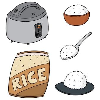 Set of rice