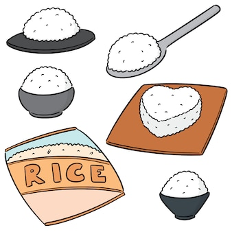 Set of rices