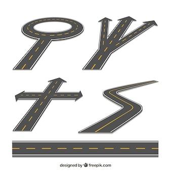 Set of roads