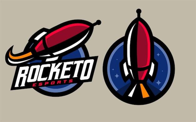 Set rocket esport gaming logo
