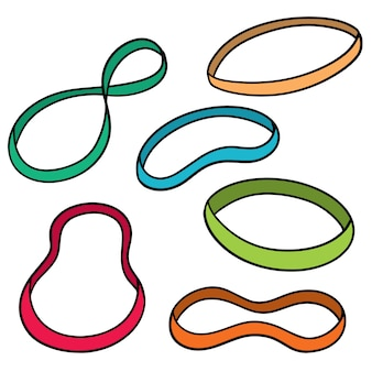 Set of rubber band