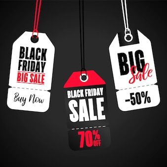Set of sale banner tag. big sale banner