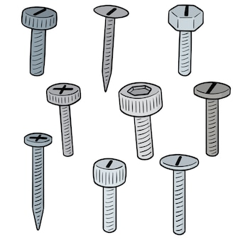 Set of screw