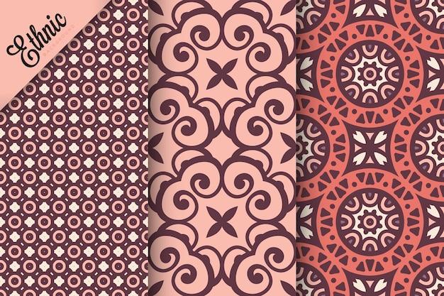 Set di pattern senza soluzione di continuità con elementi geometrici