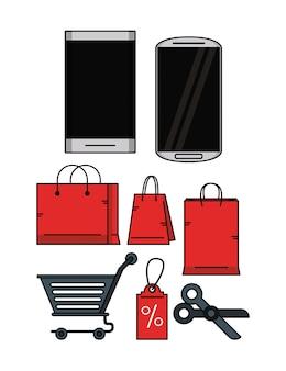オンラインショッピングを設定する