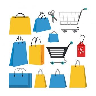 ショッピングストアを設定する