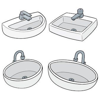 Set of sink
