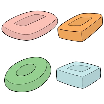 Set of soap