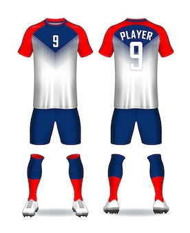 Set of soccer kit