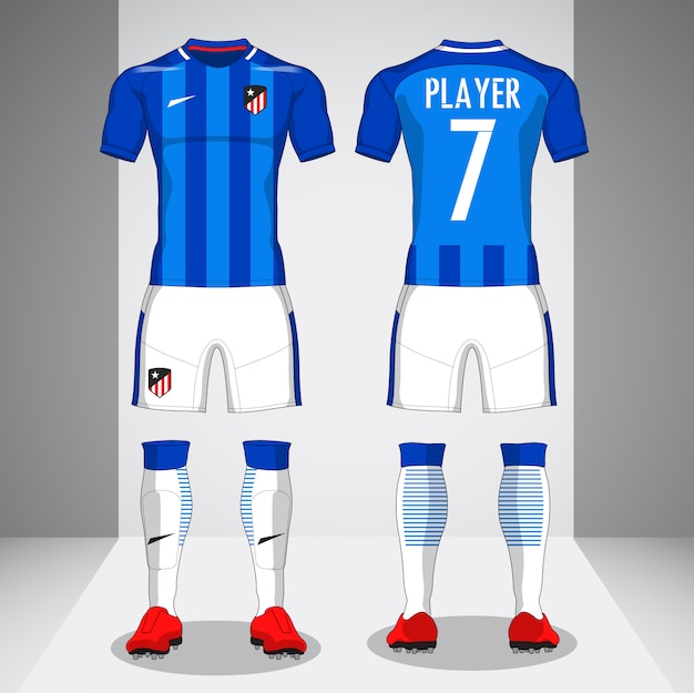 Set of soccer kit