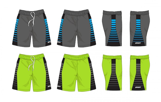 Set of sport shorts