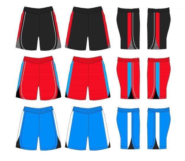 Set of sport shorts