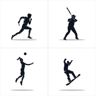 Set of sports logo