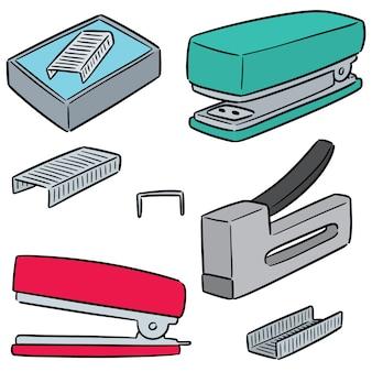 Set of stapler