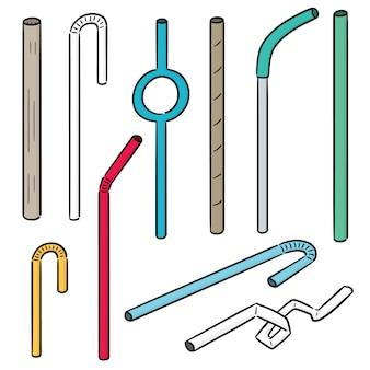 Set of straw