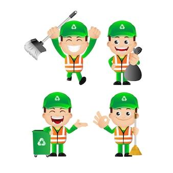 Set of street cleaner