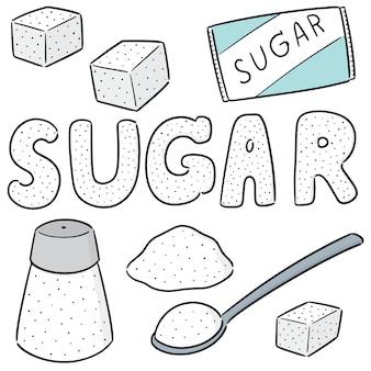 Set of sugar