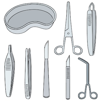 Set of surgical instrument