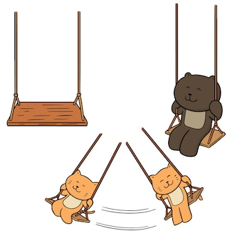 Set of swing