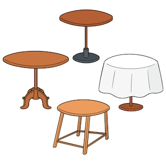 Set of table